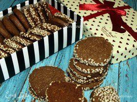 Печенье Merry mocha cookies