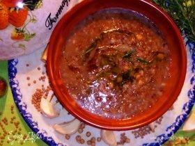 Наваристый суп из смеси бобовых и круп