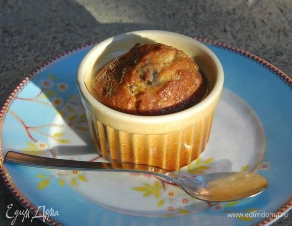 Пудинги на бурбоне с карамельным соусом