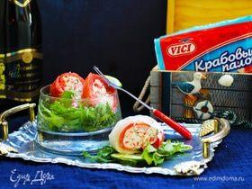 Праздничный закусочный рулет из лосося