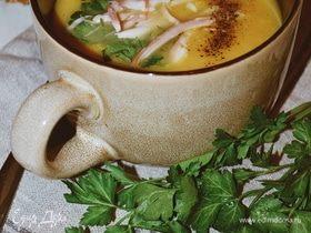 Согревающий осенний суп-пюре