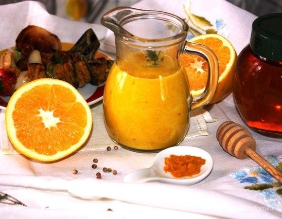 Апельсиново-медовый соус с кориандром