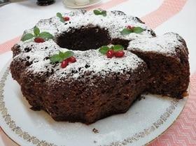 Творожно-шоколадный кекс