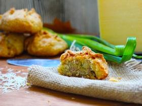 Пирожки из рубленого картофельного теста