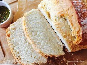 Хрустящий белый хлеб (без замеса)