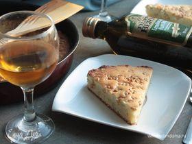 Пирог с оливковым маслом и кедровыми орешками
