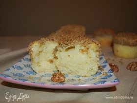 Манники с орехово-карамельной корочкой