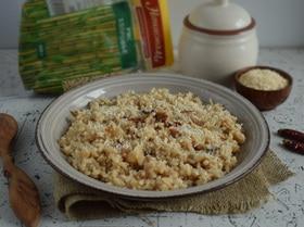 Рис с тамариндом и кокосовой стружкой