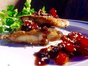 Жареная рыба в китайском стиле