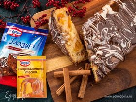 Быстрый рождественский кекс
