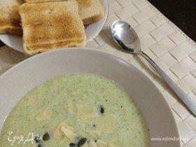Легкий суп-пюре из цветной капусты