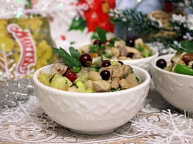 Салат «Русская зима»