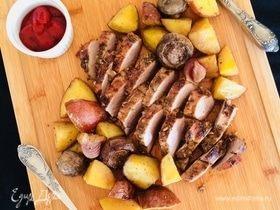 Воскресное мясо с розмарином