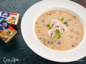 Сырный суп с шампиньонами