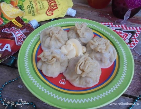 Пикантные паровые пельмени с картофелем и мясом
