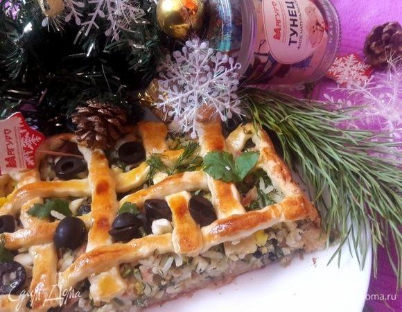 Пирог «Русские традиции» с тунцом
