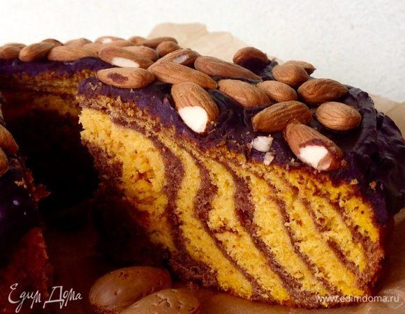Тыквенно-шоколадный кекс с ароматом Рождества