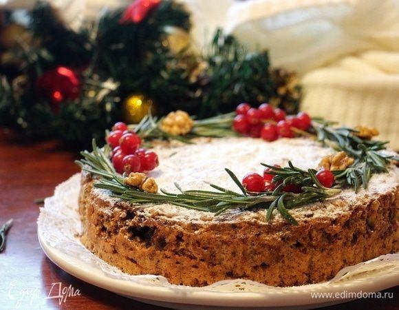 Шоколадный торт «Два ореха»
