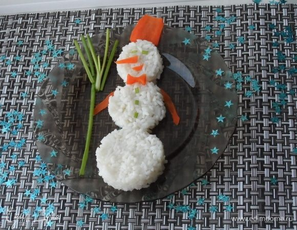 Ужин «Снежный гость»