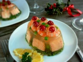 Заливное из рыбы «Новогоднее»