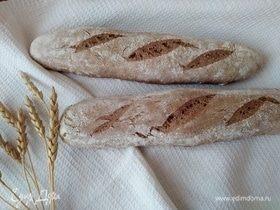 Ржаные багеты на закваске