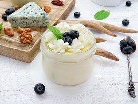 Чизкейк с голубым сыром