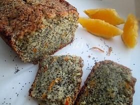 Кекс «Маковый апельсин» на манной крупе