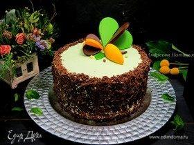 Торт «Шоколад-Мята-Лимон»