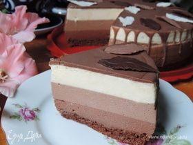 Торт «Три шоколада»
