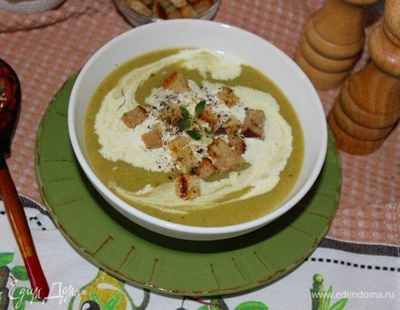 Сливочно-овощной крем-суп