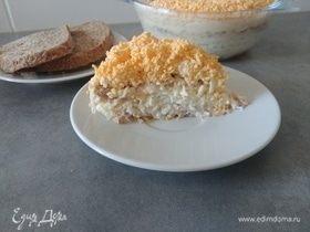 Салат «Мимоза» (без картофеля)