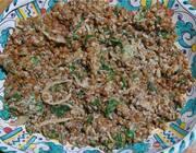 Ароматная чечевица со шпинатом и йогуртом