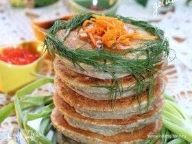 Картофельные блинчики с припеком