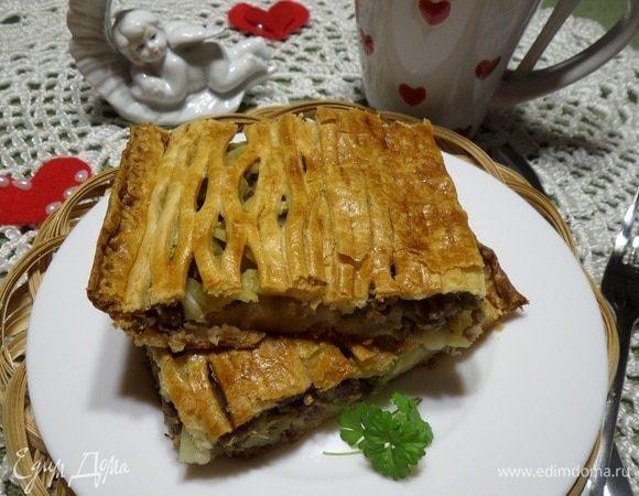 Пирог «Плотный завтрак»
