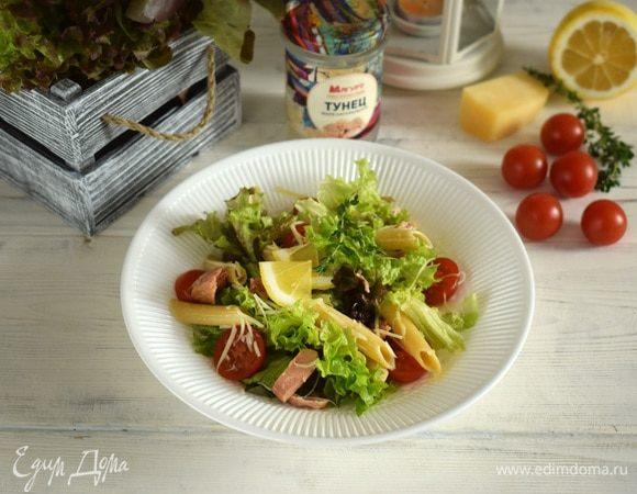 Салат с тунцом в итальянском стиле