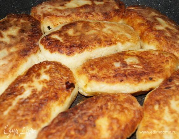 Постные картофельные пирожки