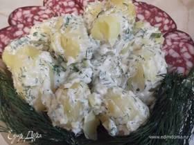 Картошечка под чесночком