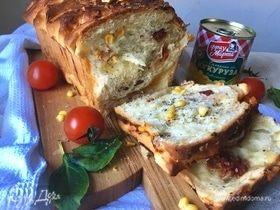 Немецкий рваный хлеб Caprese style