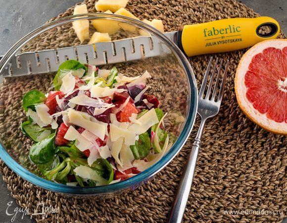 Салат с грейпфрутом и свеклой изоражения