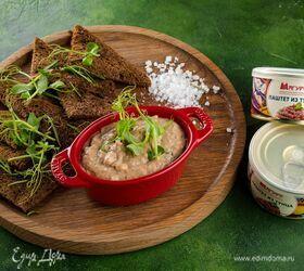 Мусс из тунца с тофу и вялеными томатами