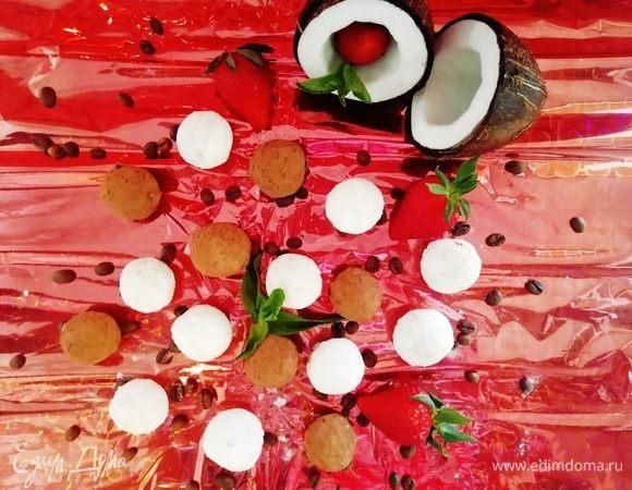 Конфеты из булгура и кокоса