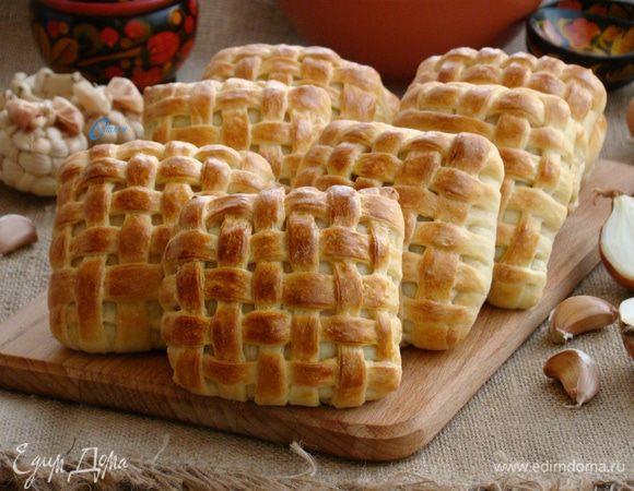 Слоеные булочки «Лапоточки»