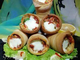 Пицца-рожок (Pizza Cone)
