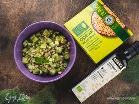 Зеленый витаминный салат