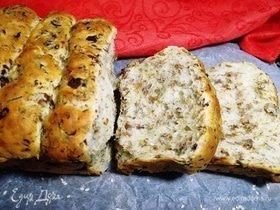 Ароматный хлеб из лисичек