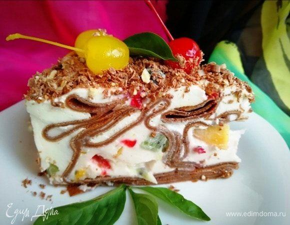 Блинный торт «Завитки»