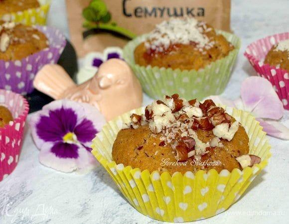 Орехово-кокосовые кексы