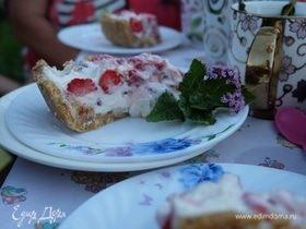 Летний ягодный десерт без выпечки