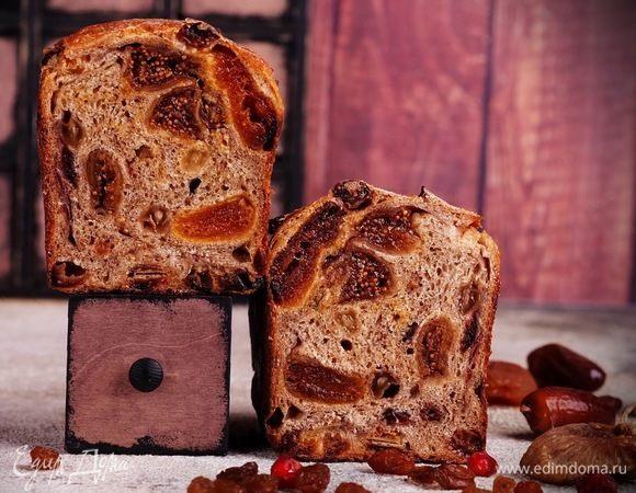 Fruit sourdough (фруктовый хлеб на закваске)