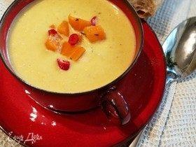 Крем-суп из лука-порея и не только